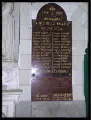 Photo Eglise la Rouxière - Plaque des Noms Blog.jpg
